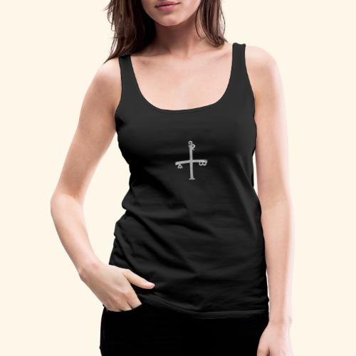 Cruz Silver - Camiseta de tirantes premium mujer