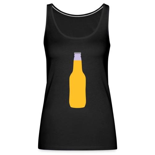 Bierflasche - Frauen Premium Tank Top