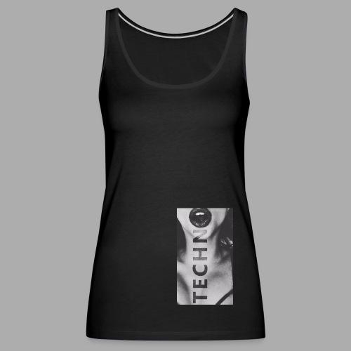 Ravelife Techno Girl - Frauen Premium Tank Top