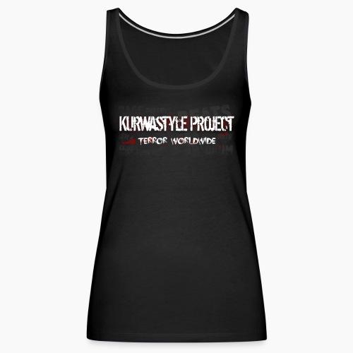 Kurwastyle Project - Terror Worldwide - Women's Premium Tank Top