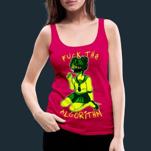 F* the Algorithm - Women's Premium Tank Top