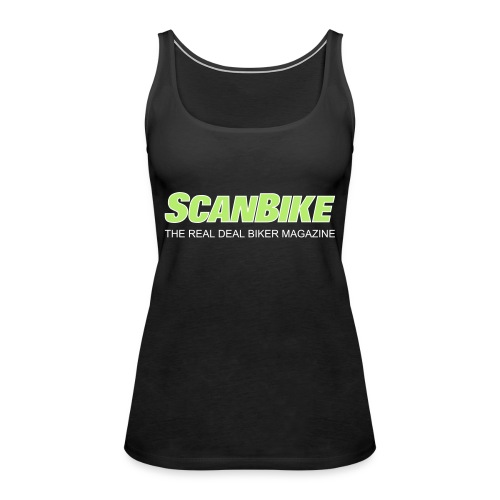 ScanbikeGreen&white - Premiumtanktopp dam