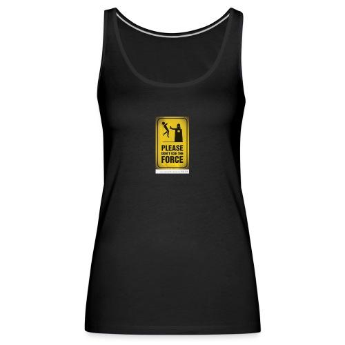 david acosta 3 - Camiseta de tirantes premium mujer