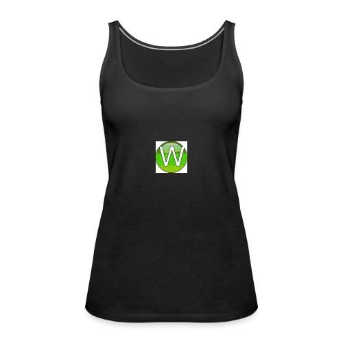Alternate W1ll logo - Women's Premium Tank Top