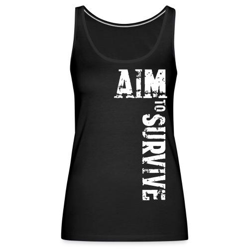 AIM TO SURVIVE - Frauen Premium Tank Top