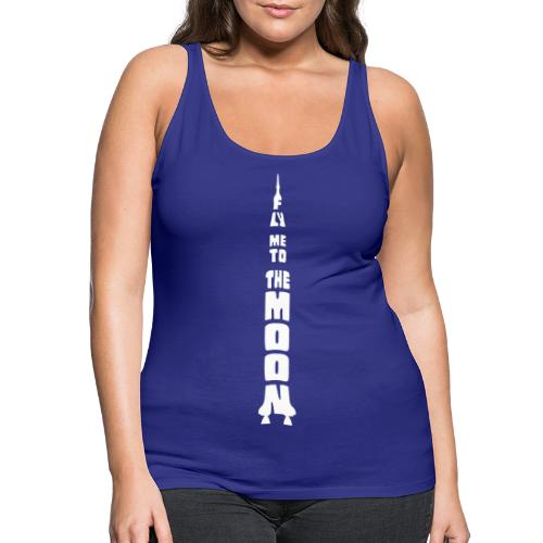 Fly me to the moon - Vrouwen Premium tank top