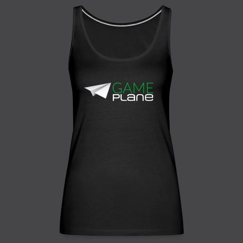 Gameplane Logo groß Relief png - Frauen Premium Tank Top