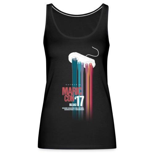 Logo MaricCon 2017 - Camiseta de tirantes premium mujer