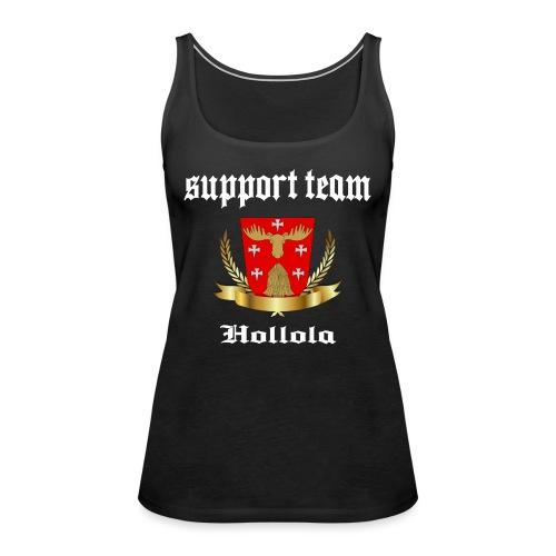 Hollola Support Team - Naisten premium hihaton toppi