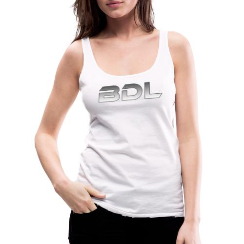 BDL lyhenne - Naisten premium hihaton toppi