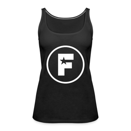 Factory Icon White - Women's Premium Tank Top