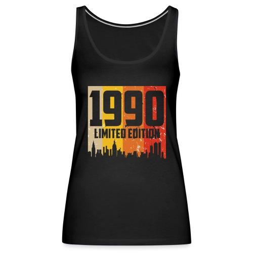 Vintage Geburtstag Limited Edition Jahrgang 1990 - Frauen Premium Tank Top