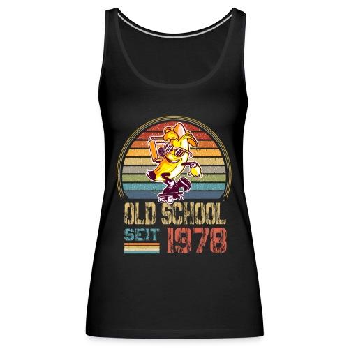 Jahrgang 1978 Skateboard Geburtstag 1978 Geschenk - Frauen Premium Tank Top
