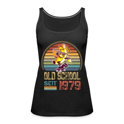 Jahrgang 1979 Skateboard Geburtstag 1979 Geschenk - Frauen Premium Tank Top