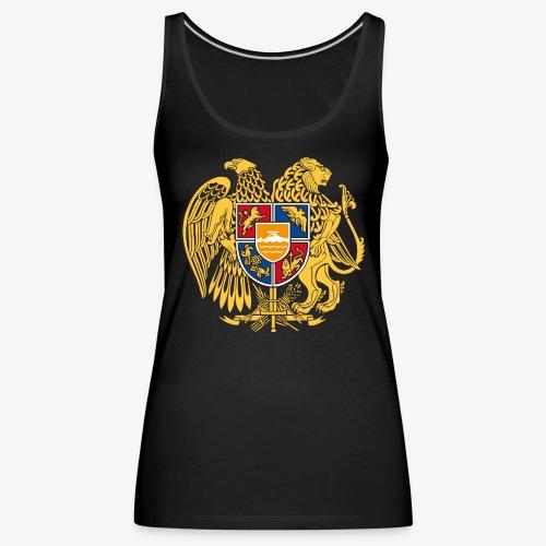 03 Armenien Wappen Armenia Армения T-Shirts - Frauen Premium Tank Top