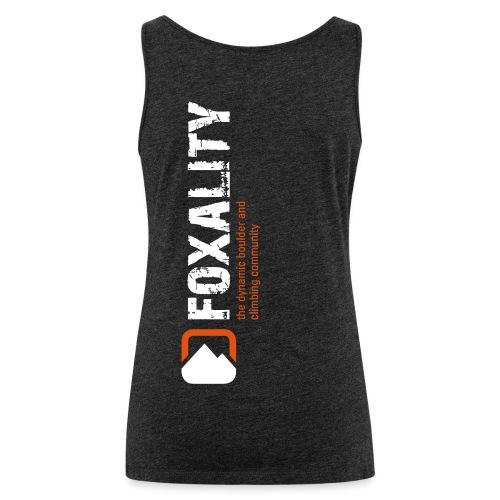 Climbing Community FOXALITY - Frauen Premium Tank Top