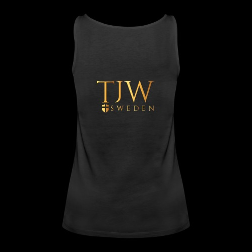 Gold logo - Women's Premium Tank Top