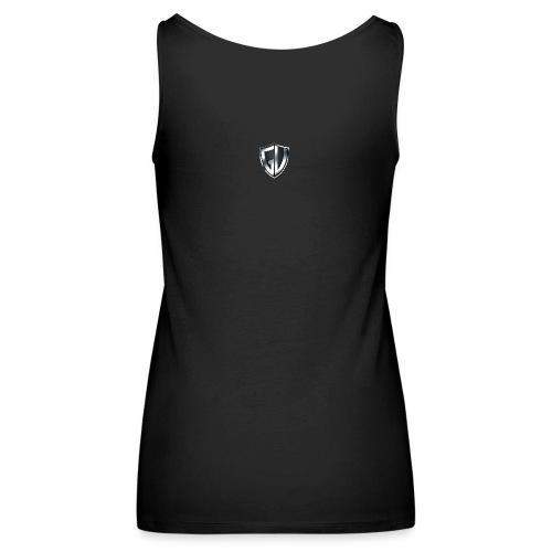 gloryvibes transparent - Frauen Premium Tank Top