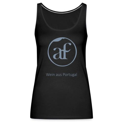 Logo_AF_T-shirt-02 - Frauen Premium Tank Top