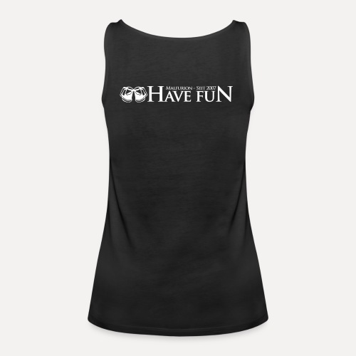 Logo Have Fun Malfurion - Frauen Premium Tank Top