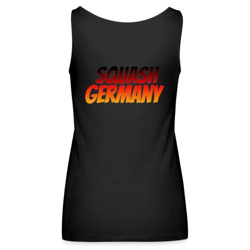 Squash Germany - Naisten premium hihaton toppi