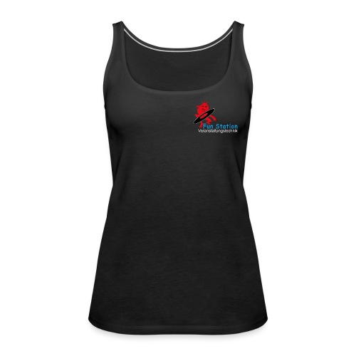 Funstation png - Frauen Premium Tank Top