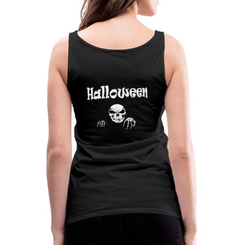 Halloween Dead Head Design - Frauen Premium Tank Top