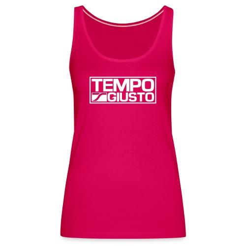 Tempo Giusto Rectangle - Women's Premium Tank Top