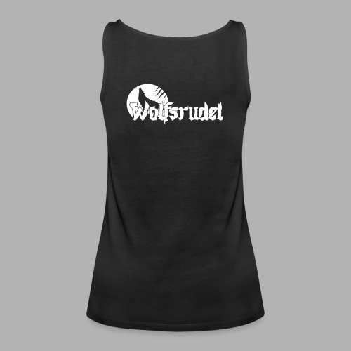 Vektor Logo Wolfsrudel - Frauen Premium Tank Top