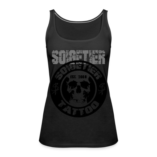 logo bad1 - Frauen Premium Tank Top