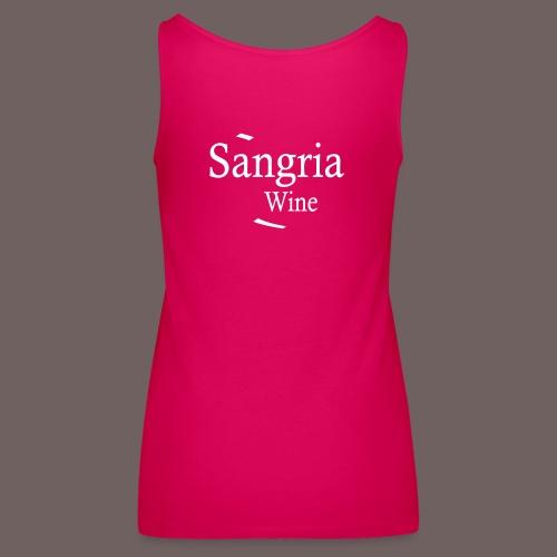 GBIGBO zjebeezjeboo - Fleur- Vin de Sangria [Flex] - Débardeur Premium Femme