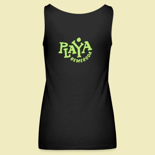 Playa Bemeroda Official - Frauen Premium Tank Top