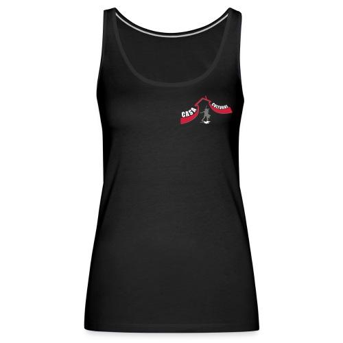 logo ccb paar grau - Frauen Premium Tank Top