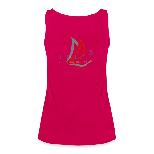 Free3 Aided Sailing System - Canotta premium da donna