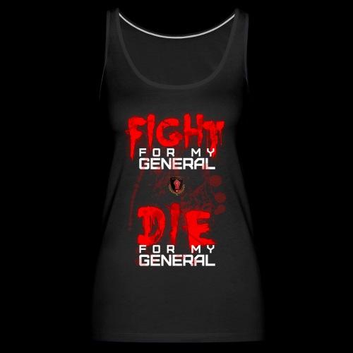 Bloody Fight Die - Women's Premium Tank Top
