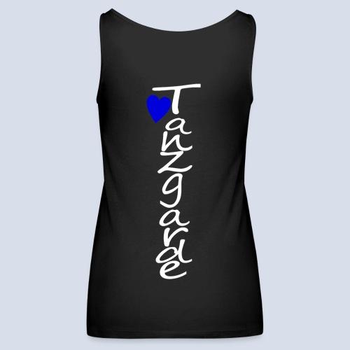 love Blau Tanzgarde - Frauen Premium Tank Top