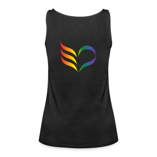 East Pride symbol - Premiumtanktopp dam