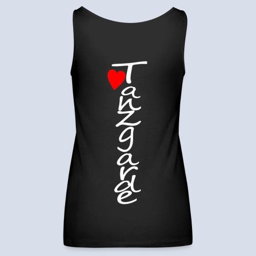 love Tanzgarde weis mit r - Frauen Premium Tank Top