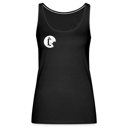Convictive logo weiss - Frauen Premium Tank Top