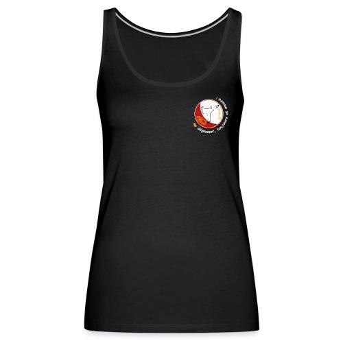 Logo TShirt Noir png - Débardeur Premium Femme