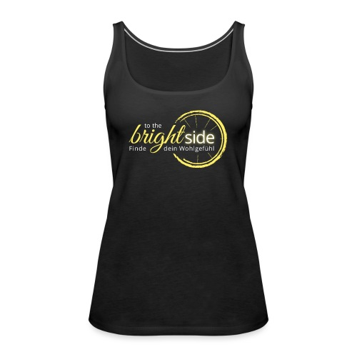 To The Bright Side - Logowear - Frauen Premium Tank Top