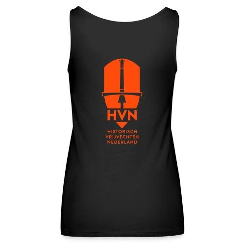 HVN_Logo_WIT - Vrouwen Premium tank top