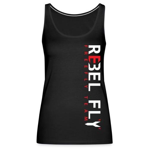 RebelFlyFreeflyTeamT ShirtPrint png - Premium singlet for kvinner