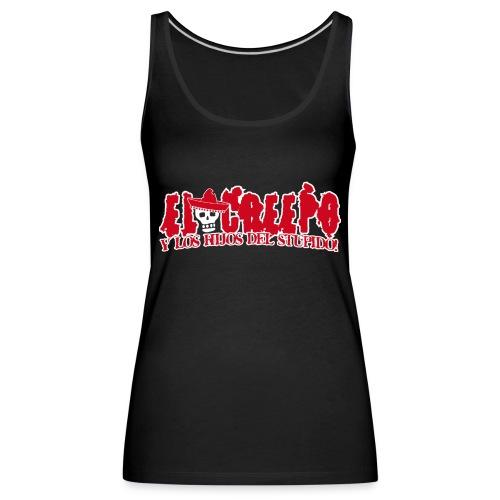 El Creepo Creepo Logo Front - Frauen Premium Tank Top