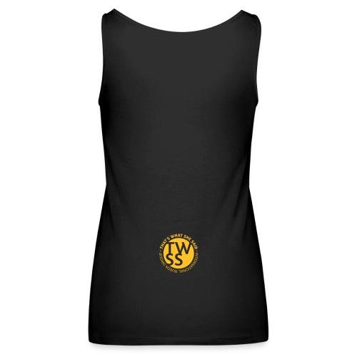 TWSS logo - That's What She Said - International - Frauen Premium Tank Top