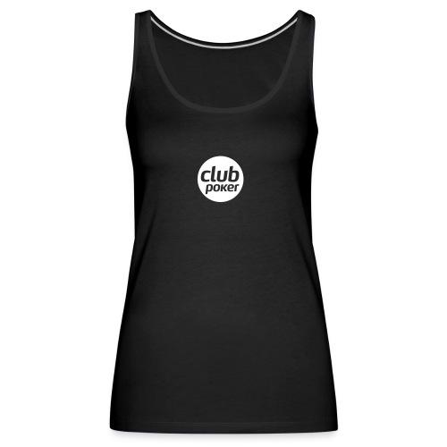 Club Poker Monochrome - Débardeur Premium Femme