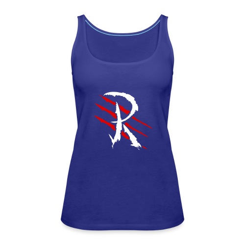 Raptayn Logo White - Frauen Premium Tank Top
