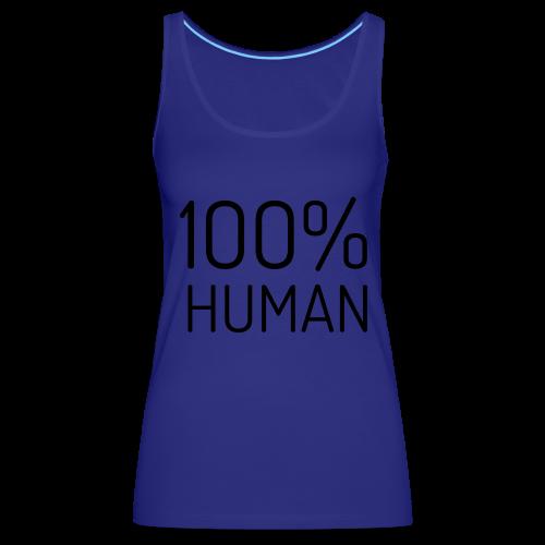 100% Human - Vrouwen Premium tank top