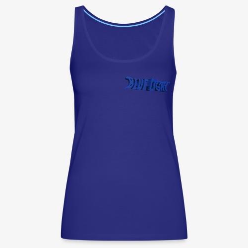 Blue Light Borst - Vrouwen Premium tank top