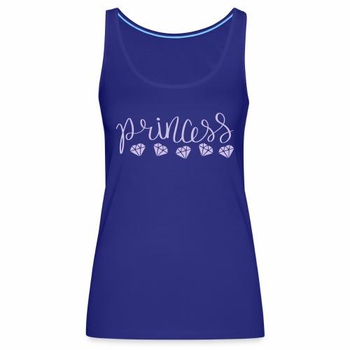 Prinzessin Diamanten - Frauen Premium Tank Top